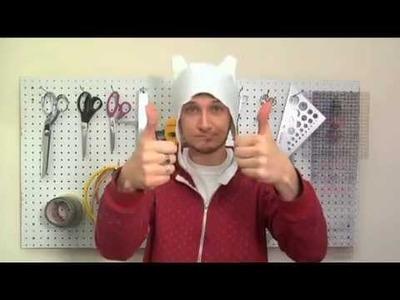 DIY Finn Hat from Adventure Time!