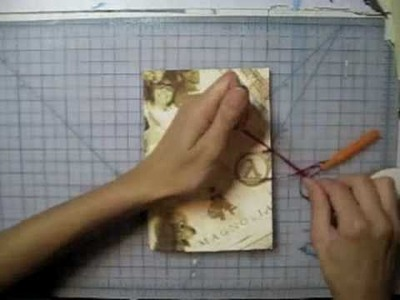 DIY GIFT IDEA- Personalized Custom Antique Sketchbook by Leilani Joy