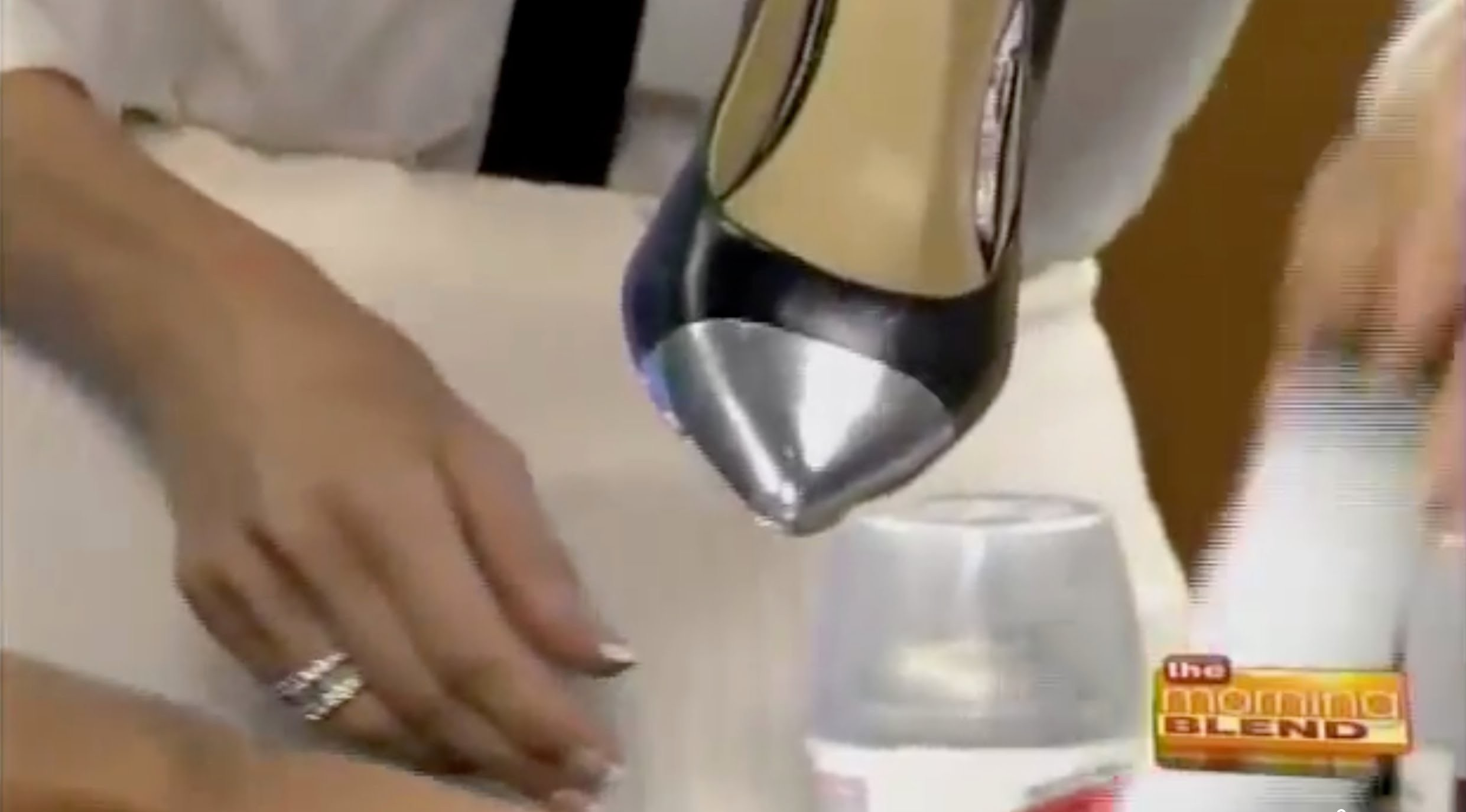 DIY Metallic Cap Toe Shoe Tutorial - How To Make Your Own Designer Shoe! Hottest Pump for Fall 2012!