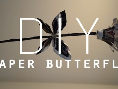 DIY Room Decorations | Paper Butterfly