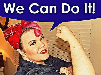 DIY! Rosie the Riveter Costume Tutorial