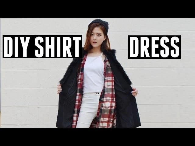 DIY Shirtdress