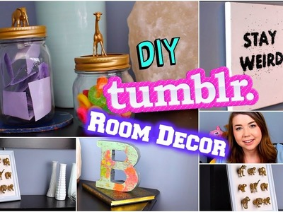 DIY Tumblr Room Decor 2015! Tumblr Inspired DIYs! Cheap + Easy!