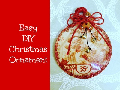Easy Christmas Ornament DIY