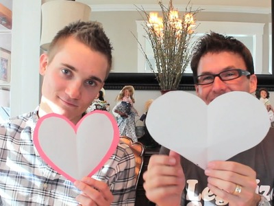 GAY CRAFTING - How To Make a Valentine-ish Card!