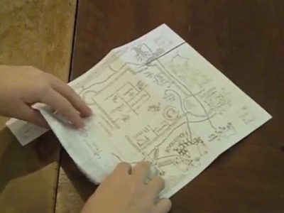 Harry Potter Crafts: Marauder's Map