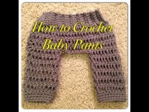 How to Crochet Baby Pants