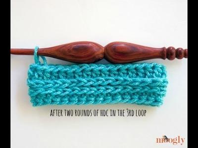 How to Crochet: Half Double Crochet in the Third Loop