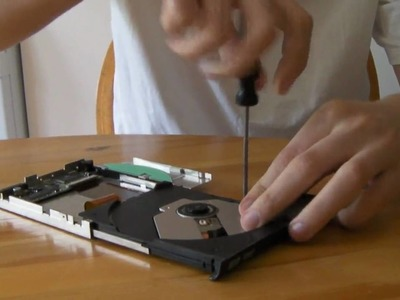 How to Get the Laser diode out of Laptop DVD burner