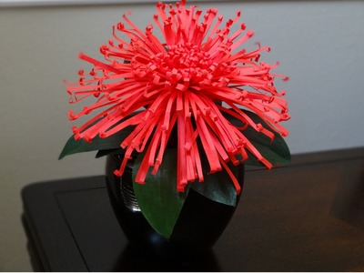 How to make a beautiful and easy paper flower - Mother's day gift