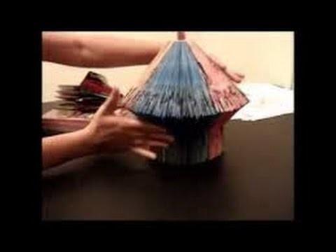 How to make a book hut  -  best craft