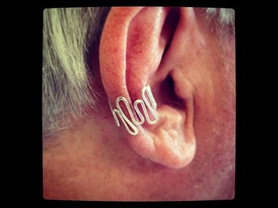 How to make a DIY Wire Ear Cuff, Midi Ring, or Toe Ring