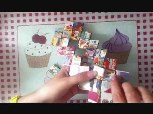 How To Make A Flat Bottom Candy Wrapper Purse Bag