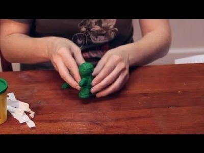 How to Make a Mummy With Play-Doh : Sculpting Crafts & More