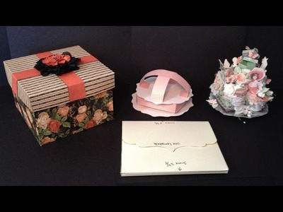How to make a pizza box,gift boxes and 3D envelopes