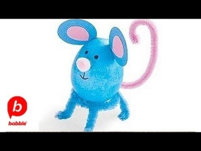 How to Make an Easter Mouse Egg | Crafts | Babble