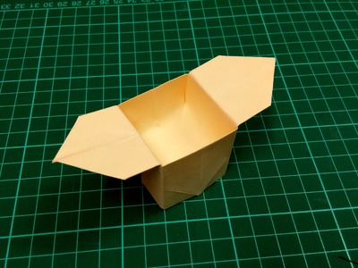 How to make an origami paper box (gift box) - 5 | Origami. Paper Folding Craft, Videos & Tutorials.