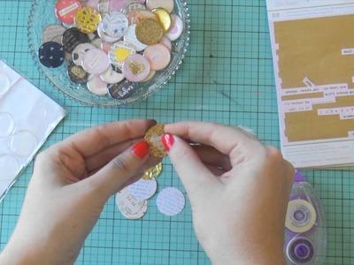 How To ~ Make DIY Flair Badges