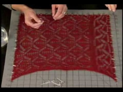 KDTV 103 - How to Block Lace Knitting