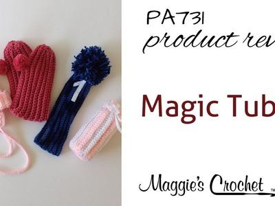 Magic Tube Set 3 Crochet Pattern Product Review PA731