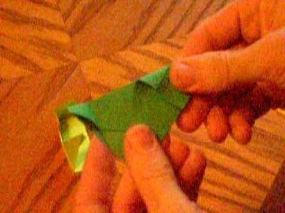 Origami Triangle Box - PWOC
