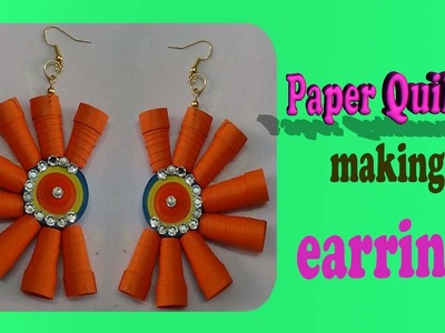 Paper quilling -ART AND CRAFT earrings