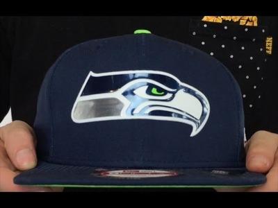 Seahawks '2015 NFL DRAFT SNAPBACK' Navy Hat by New Era