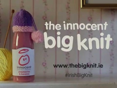 The innocent Irish Big Knit ad 2015