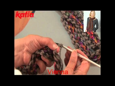 Vienna (Crocheting together using another yarn.Unir a ganchillo con otro hilo)