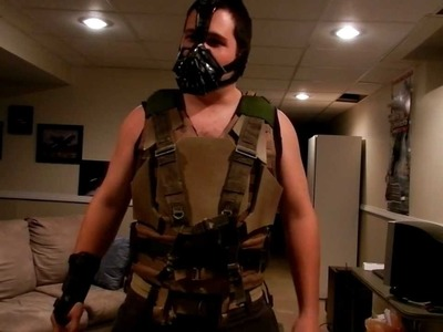 Bane Costume Tutorial (Wrist+Full)