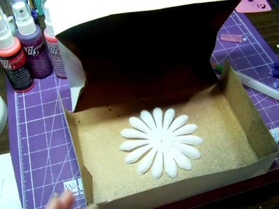 Color your own silk flowers