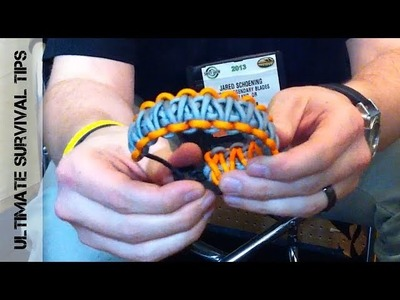 """First Look"" - Bear Grylls Paracord Survival Bracelet - SHOT Show 2013 - Preview"
