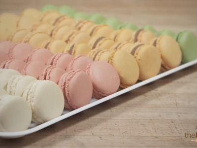 French Macarons Recipe from American Almond