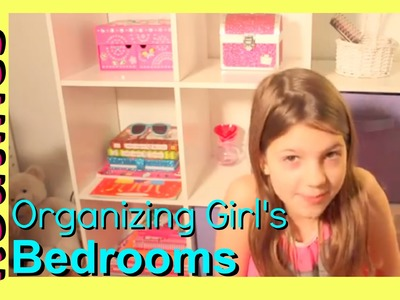 Girl's Room Tour | Annie Re Organizes her Bedroom | Organizing Girl's Bedrooms