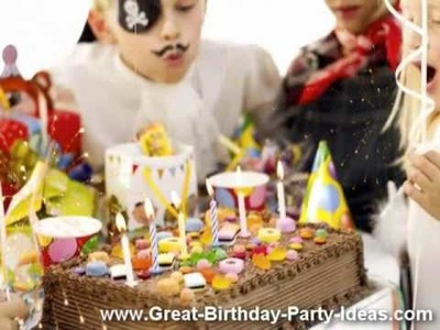 Great Birthday Party Ideas - Themes, Games, Gifts & Cakes. [HQ]