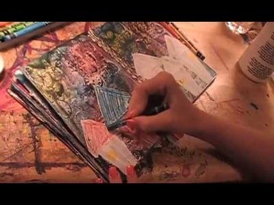 Home- Art journal tutorial by Lynda