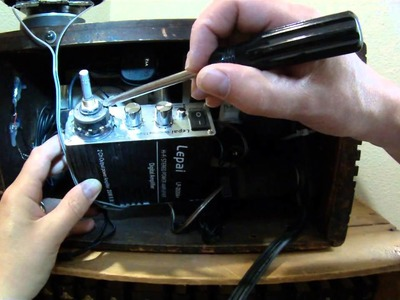 How to Convert an Antique Radio to Bluetooth