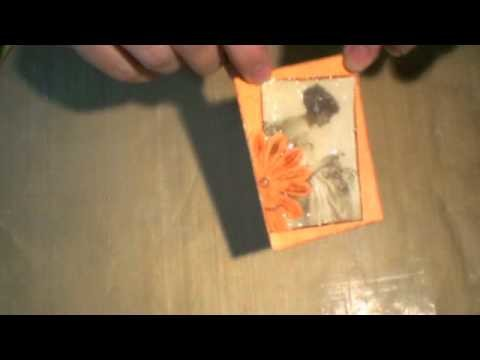 """How-to: """"Cracked Glass"""" ATC"""