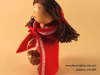 How to make a clothespin doll