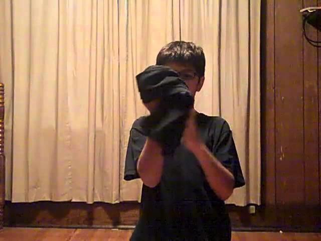 How to make a ninja costume (remake)