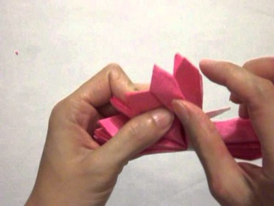 How to make a tissue paper flower peony