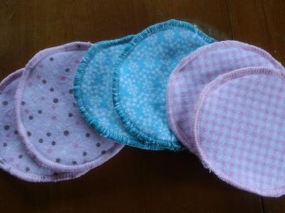 How to make cloth nursing pads