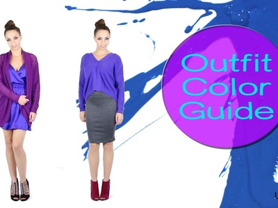 How to Wear Color!  Fall & Winter Outfits Ideas Color Guide + Caffeine Diet Tips!