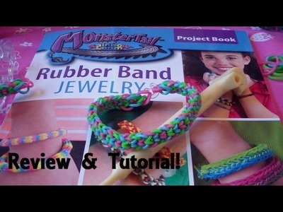 Monster Tail Pattern Book Review & Inverted Fishtail Tutorial!!!! (Easy)