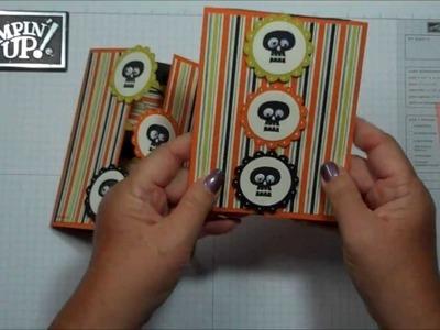 Peek a Boo window card with Dawn