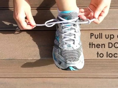The Lace Lock for Blisters on Feet