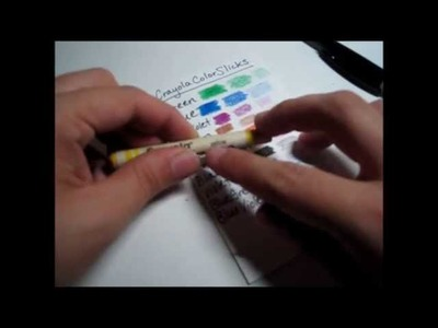 ASMR Listing. Cataloging Crayons (No talking)