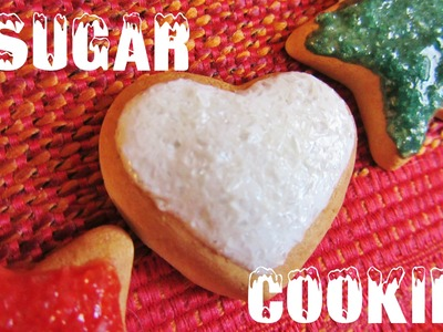 Christmas sugar cookie tutorial (simple, polymer clay)