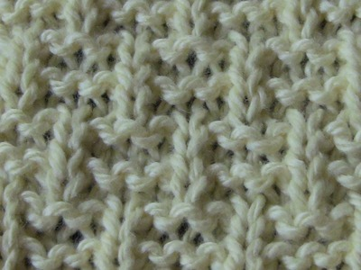 Double Basket Weave Stitch