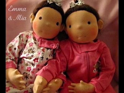 Free Tutorial Cloth doll faces (blushing)